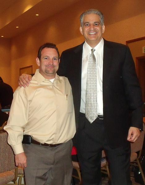 John Carr with Bob Burg